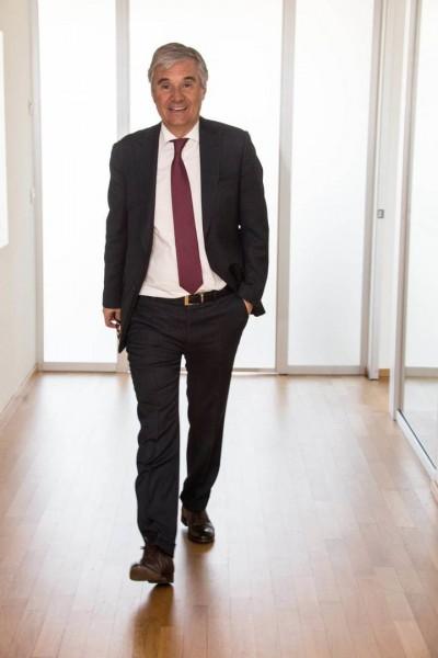 Der Vorsitzende von Acciaitubi, Marco Berera
